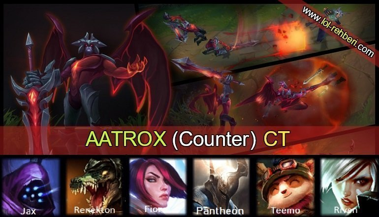 lol aatrox ct, aatrox counter